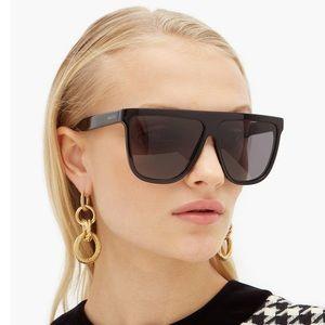 Gucci Accessories - Gucci Black Flattop Square Acetate Sunglasses